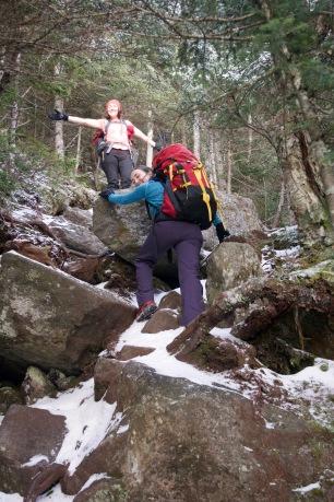 Climbing up Watson